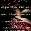 soirée gang bang organisé avec Mary couples GB bienvenus