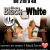 soirée mixte black and white